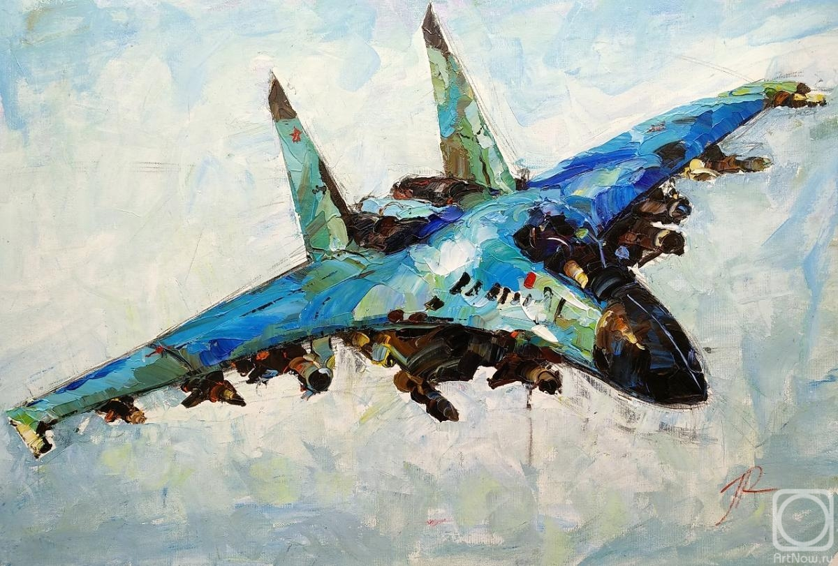 Rodries Jose. MiG-35 airplane in flight