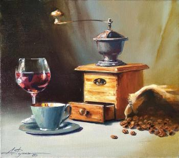 Still life with the coffee grinder. Fomin Andrey