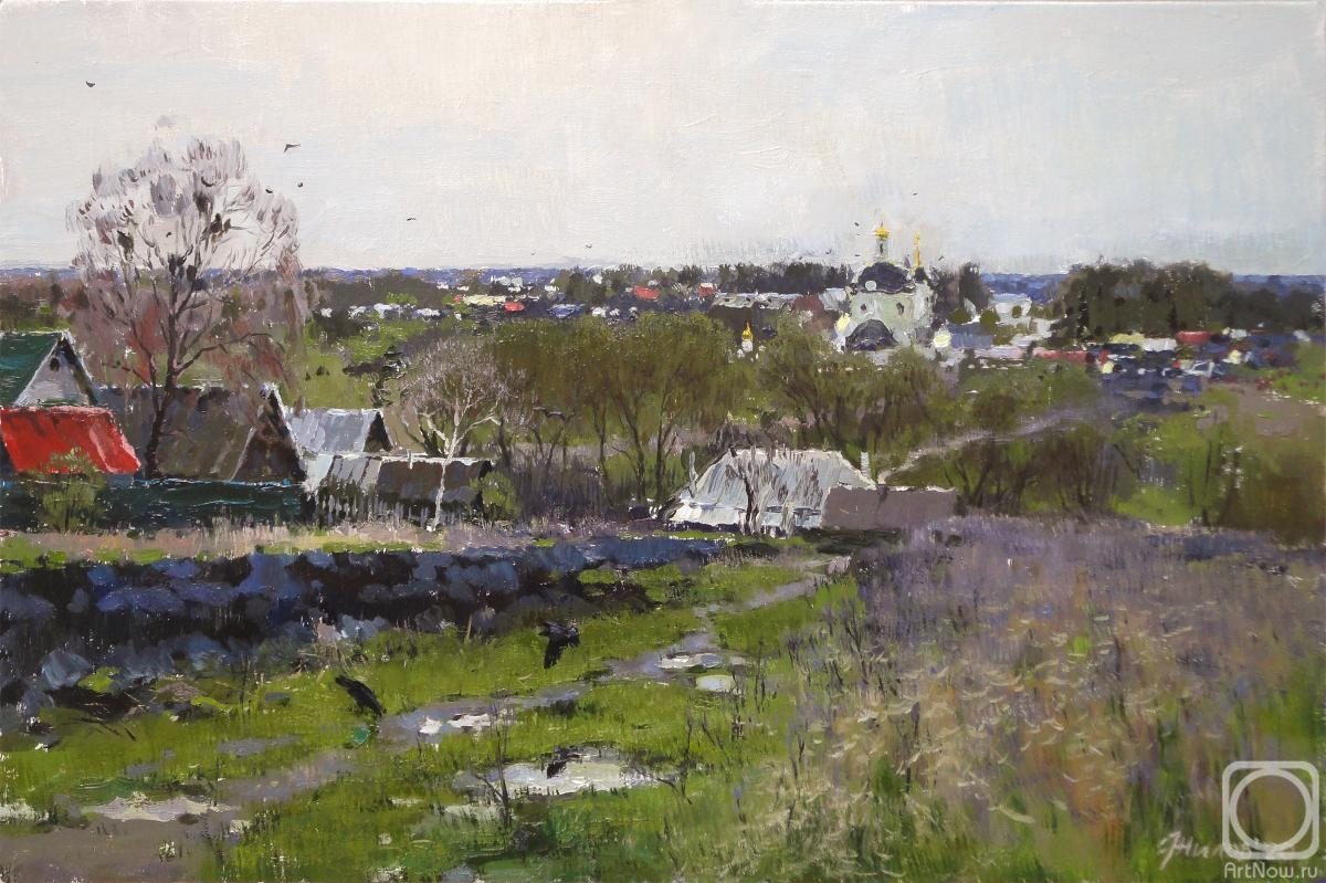 Zhilov Andrey. May Day in Orekhovets