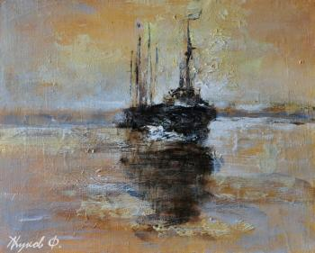 Gold sailboats. Zhukoff Fedor