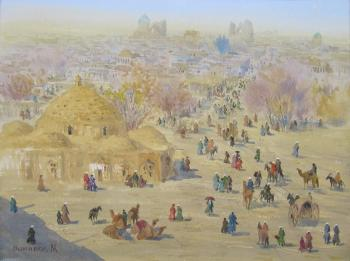Morning in Samarkand. Mukhamedov Ulugbek