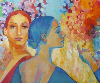 Blue and red (Girls). Rikun Olga