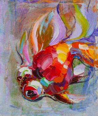 Goldfish for good luck. Rodries Jose