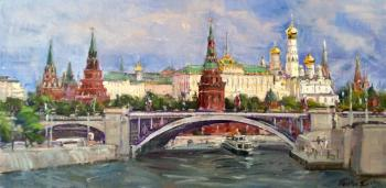 View of the Moscow Kremlin. Poluyan Yelena