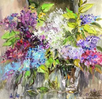 Bunches of lilac
