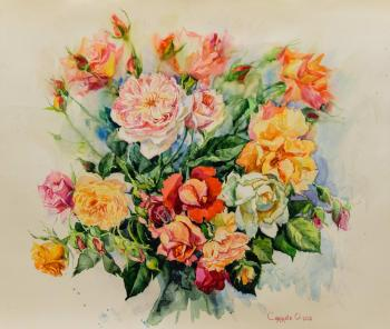 Bouquet of roses. Simonova Olga