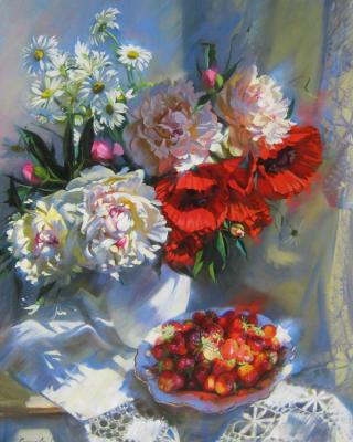 Strawberry summer. Goryacheva Svetlana