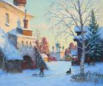 Alexandrovsky Alexander. Winter day in Kargopol