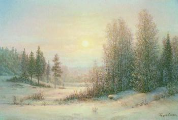 Winter morning. Panin Sergey