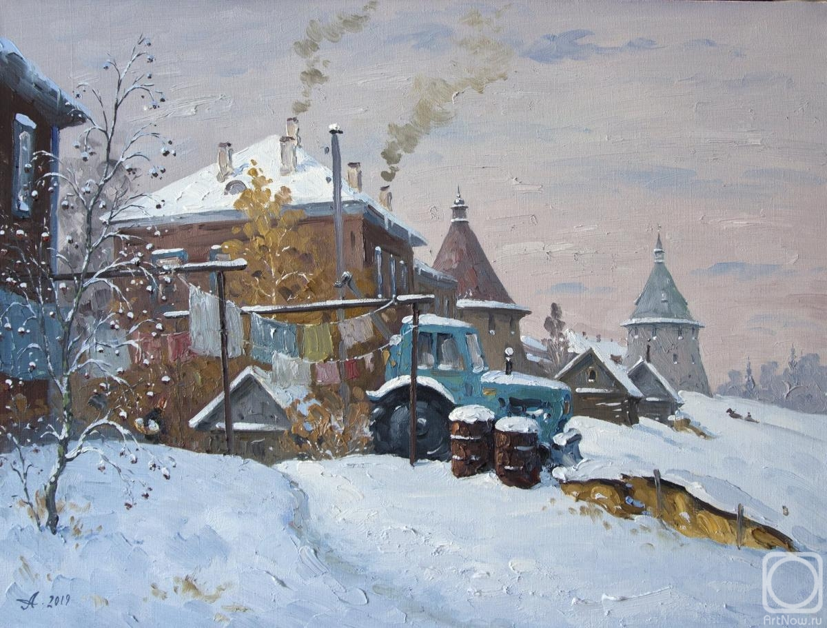 Alexandrovsky Alexander. Solovetsky yard. Winter