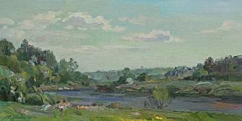 Bright day on the Ugra (Nature Reserve). Zhlabovich Anatoly