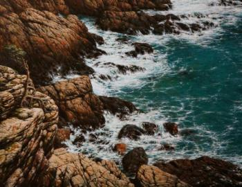 Pacific Ocean. Coast. Rodzin Dmitry