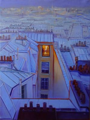 The Rooftops Of Paris. Razumova Svetlana