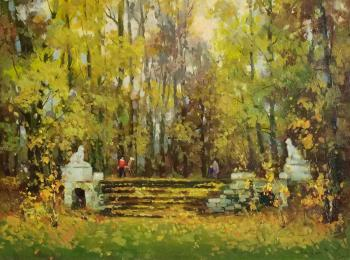 In the open air. The Estate Of The Golitsyns Pekhra-Yakovlevskaya. Bilyaev Roman