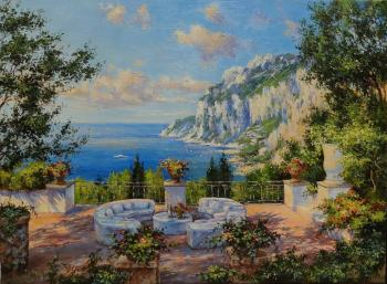 Capri. View from the balcony (View Of The Sea). Borisova Irina