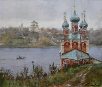 On the Romanov side. Rain in Tutaev (Russian Province). Galimov Azat