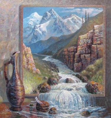 The memory of the mountains (Surrealism). Litvyakov Sergey