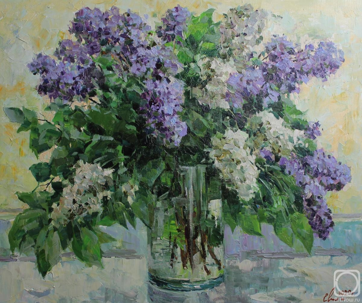 Malykh Evgeny. A bouquet of lilac