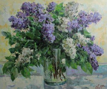 Malykh Evgeny Vasilievich. A bouquet of lilac