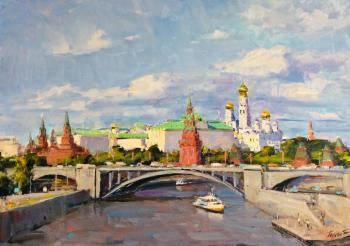 Over the Moscow River. Poluyan Yelena