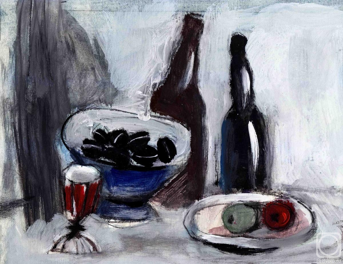 Shpak Vycheslav. Still life with olives