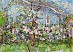 Tyutrin Peter. Apple trees in bloom