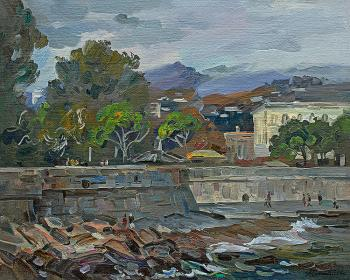 View of the seafront of Yalta. Zhlabovich Anatoly