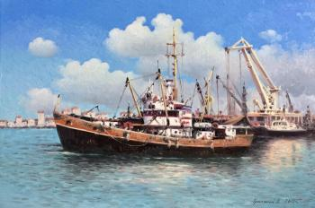 Fishing vessel. Gribennikov Vasily