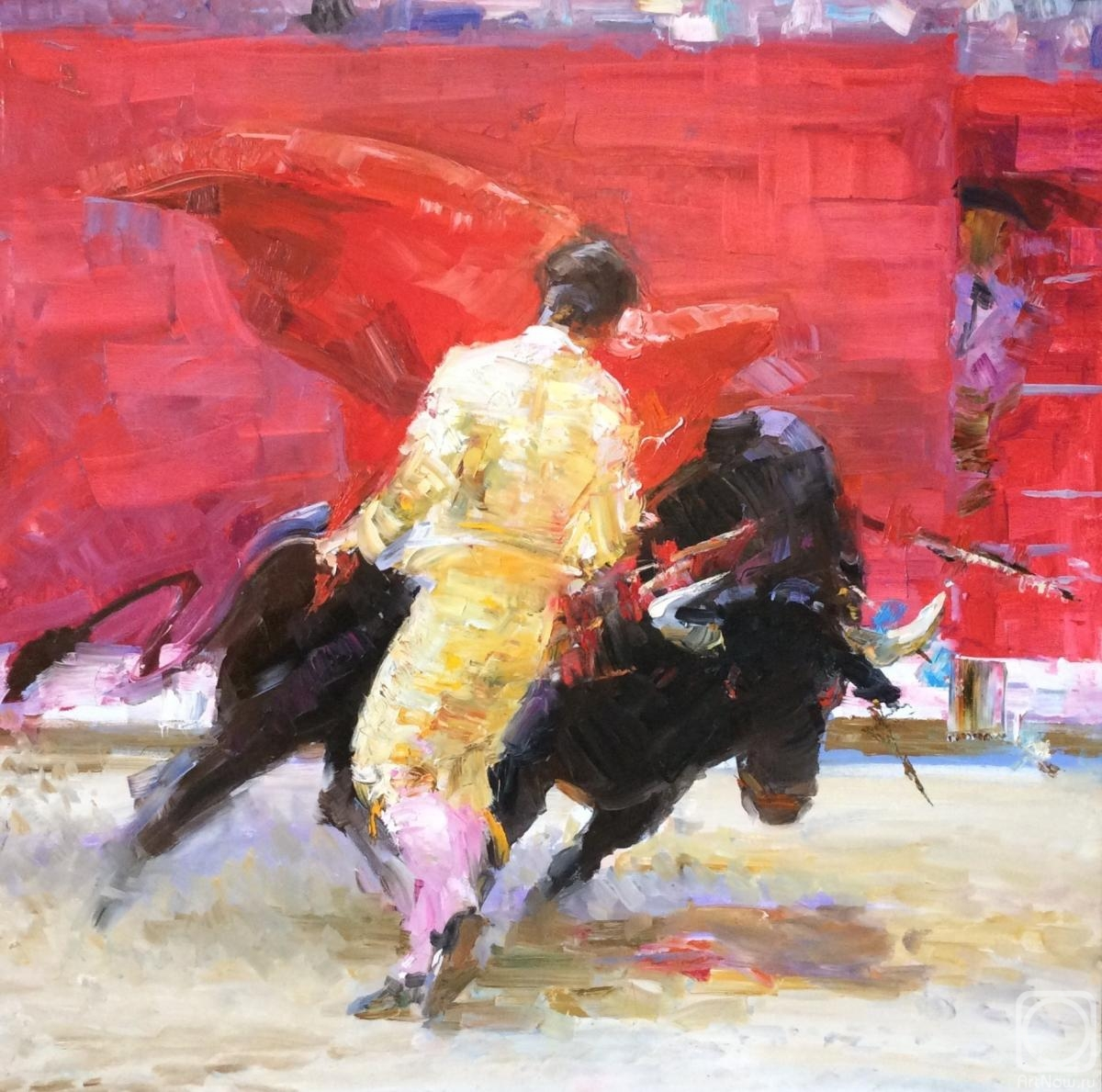 Komarova Elena. Bullfighting