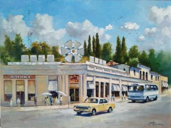 Resort Avenue and st. Gorky. Sochi the 70th. Fomin Andrey
