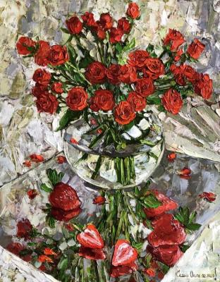 Strawberry Roses. Sedyh Olga