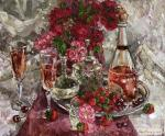 Sedyh Olga. Bouquet Of Pink Champagne