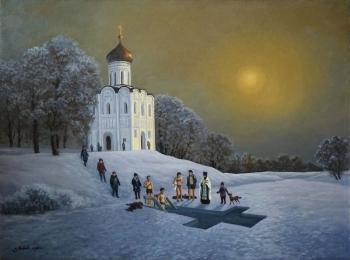 Baptism. The Church Of The Intercession. Litvinenko Gennadiy