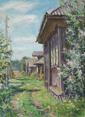 The June afternoon in Gubarev. Kovalevscky Andrey