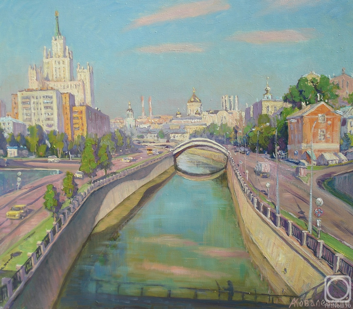 Kovalevscky Andrey. Early morning in Moscow. June