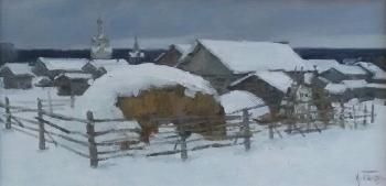 Kimzha. Winter day. Panov Igor