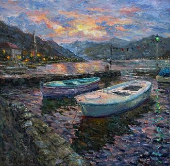 Evening in the Bay of Kotor. Kolokolov Anton
