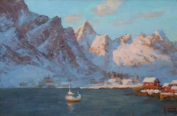 The harbour in Reine. Panov Igor