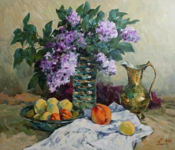 Lilac and fruits. Malykh Evgeny