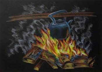 Kettle on Fire. Lukaneva Larissa