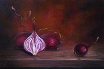 Red onion. Fomina Lyudmila