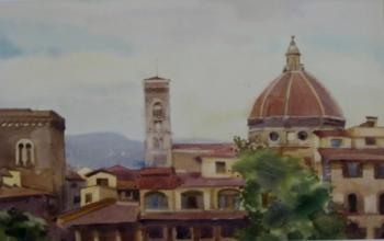 The Rooftops Of Florence. Lapovok Vladimir