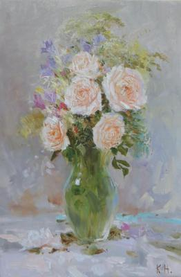 White roses. Komarov Nickolay