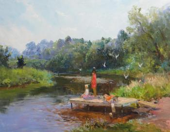 Summer. Komarov Nickolay
