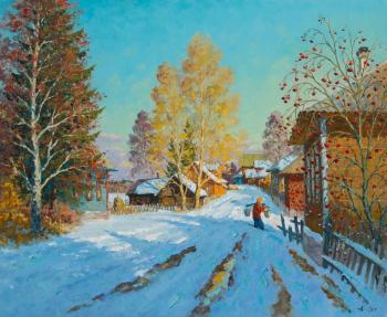 March in village of Bor. Alexandrovsky Alexander