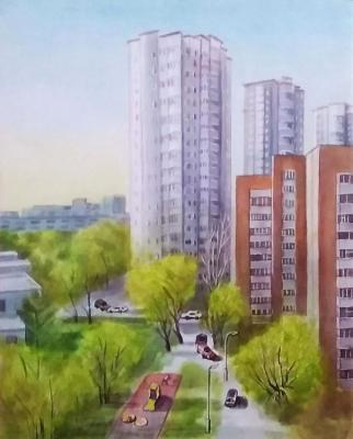Tenth floor (Greenery). Levina Galina