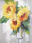 Mikhalskaya Katya. Bright sunflowers
