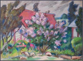 Lilac (Lilac In Painting). Ivanov Aleksandr