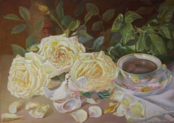 Roses for tea. Kudryashovа Galina