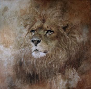 Lion (Animal). Pogosyan Sergey